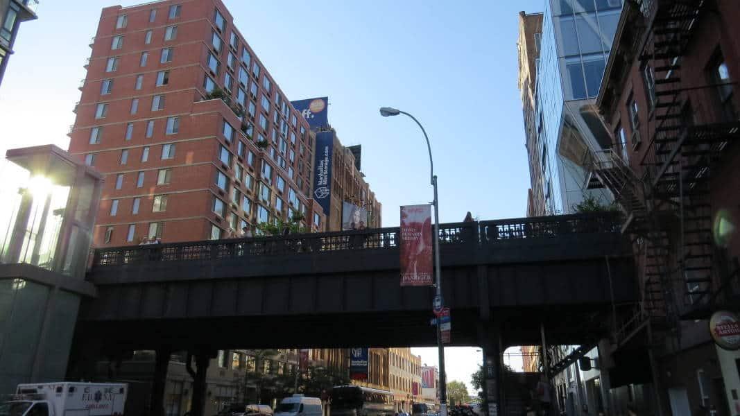 Die Highline - eine grüne Oase mitten in New York