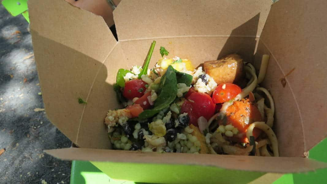 Buffet bei Whole Foods - Box Nummer zwei