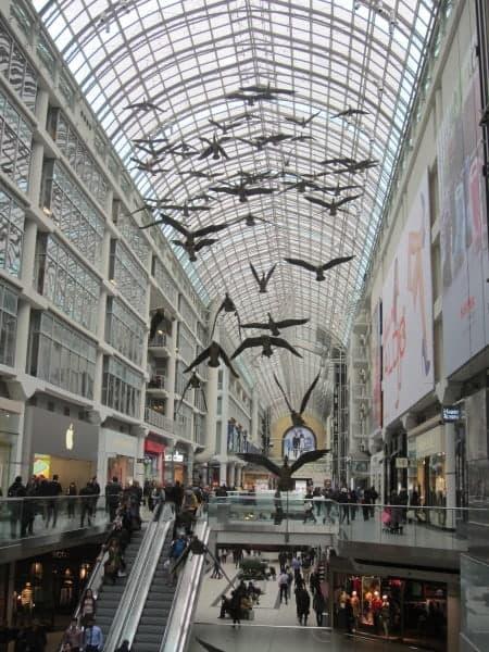 Eaton Centre in Toronto