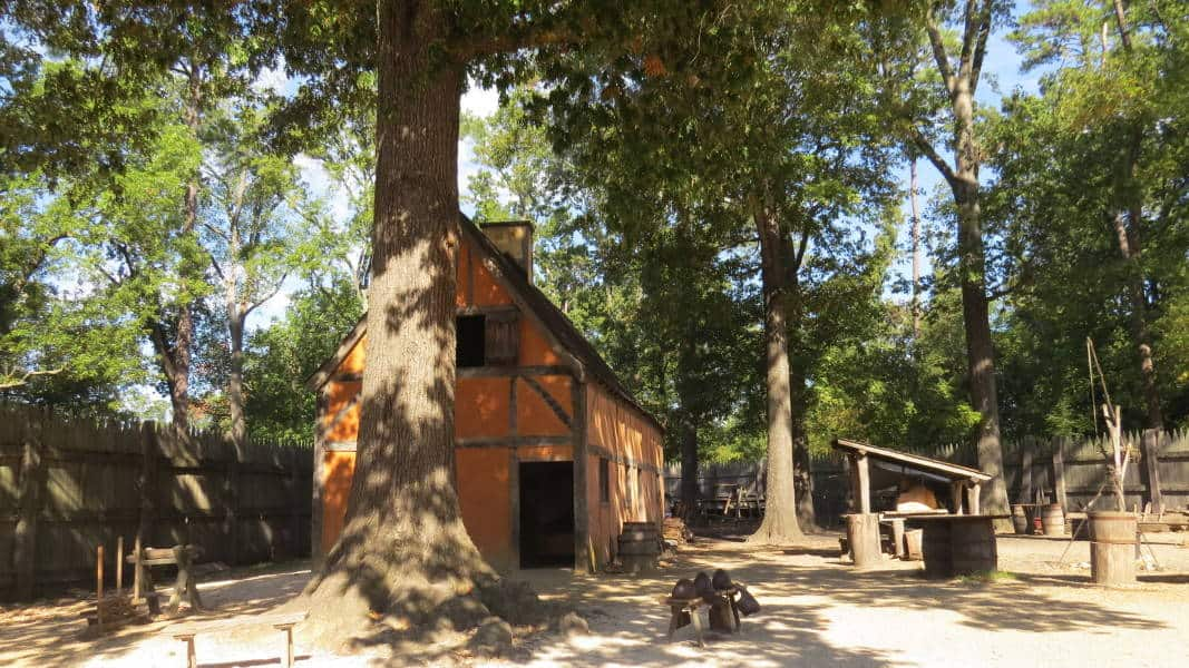 Jamestown, Virginia- der Beginn der amerikanischen Geschichte