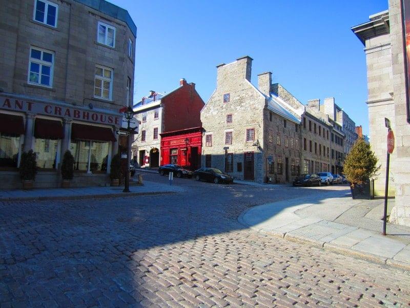 Die Altstadt Montréals