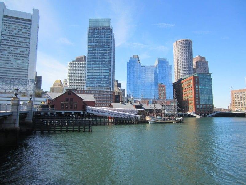 Boston Waterfront und Tea Party Museum