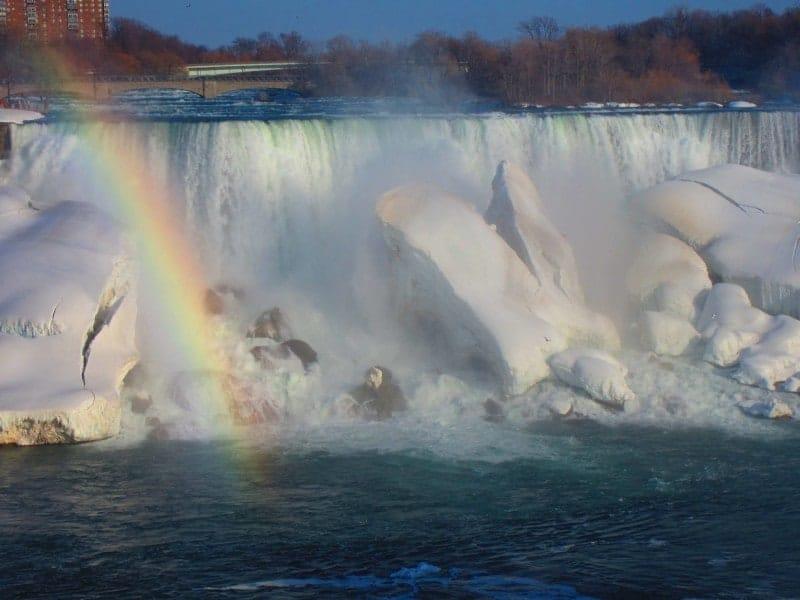 Niagara Falls - Regenbogen