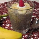 Chia-Bananenmilch-Pudding
