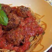 Spaghetti and Meatballs (vegan)
