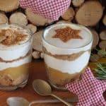 Veganes Spekulatius-Joghurt Schichtdessert
