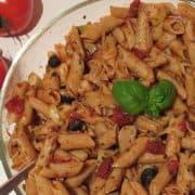Italienischer Nudelsalat (vegan)