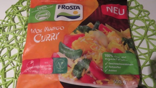 Frosta Wok Mango Curry (vegan)