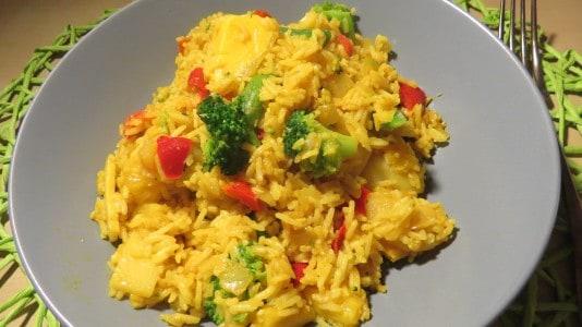Wok Mango Curry von Frosta