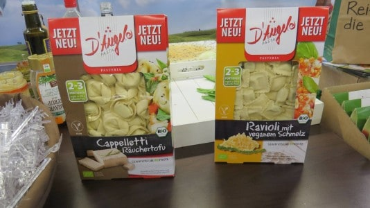 D'Angelo - neue vegane Sorten