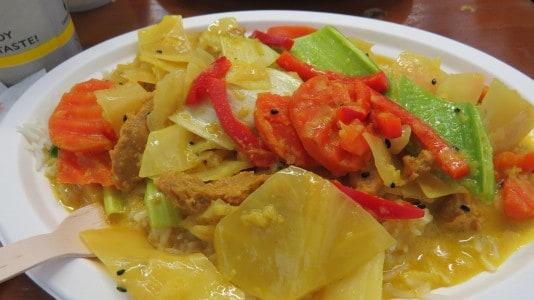 Thaicurry auf der Veggie World