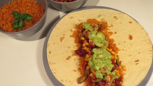 Veganer Burrito