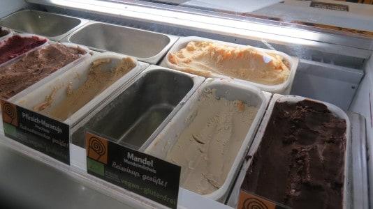 veganes Eis von Bruna auf der Veggie World