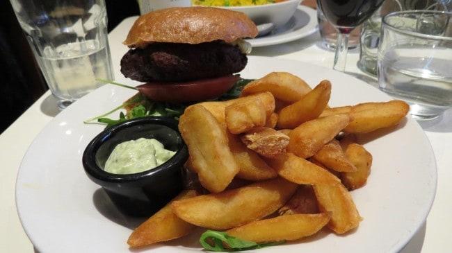 Veganer Burger bei Mildreds