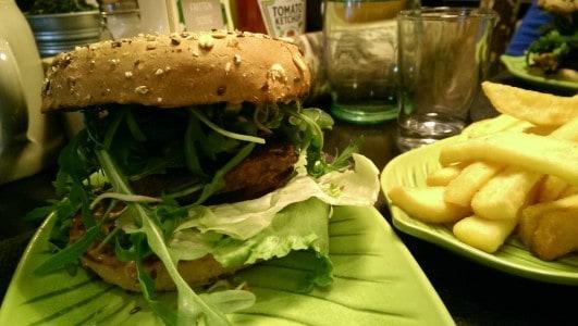 Hans im Glück veganer Burger