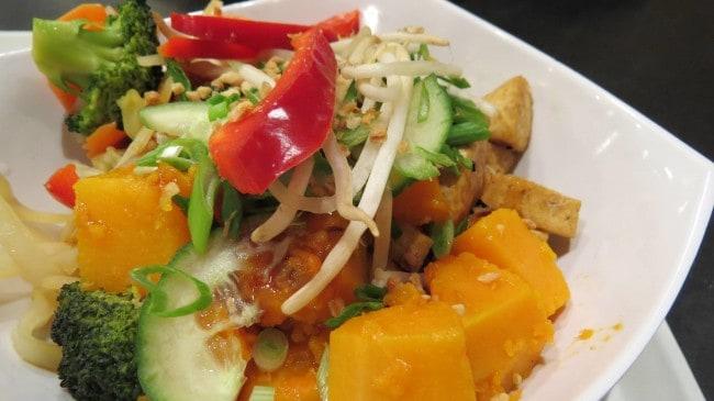 Mittagessen bei Whole Foods