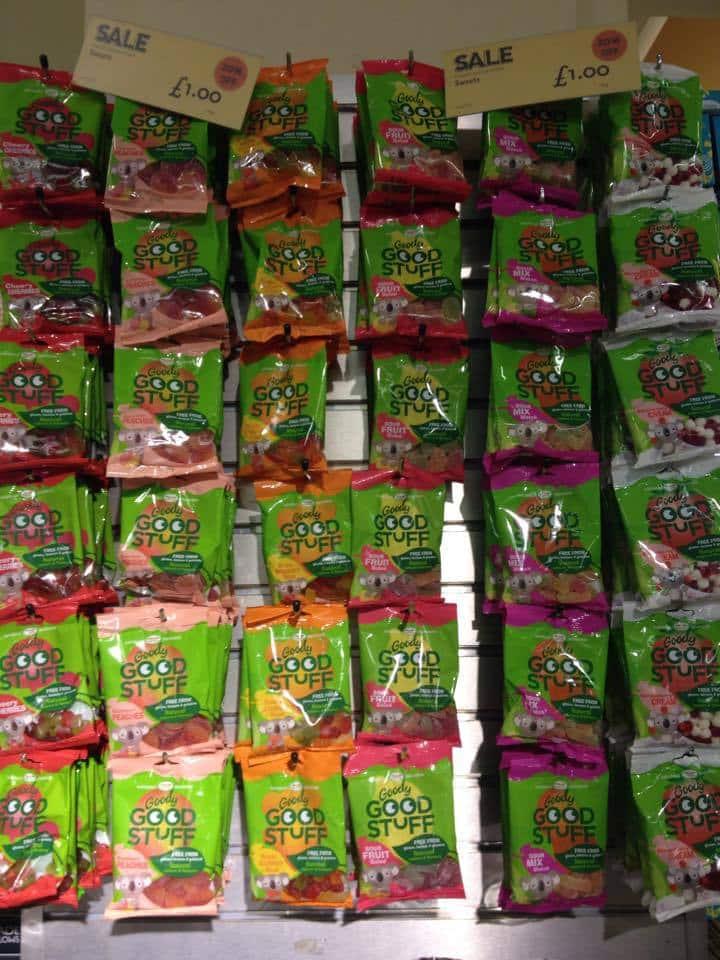 Vegane Gummibärchen bei Whole Foods