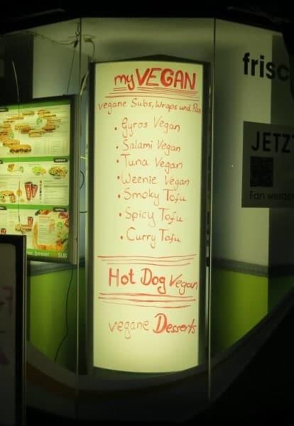 veganes Angebot bei my SUB