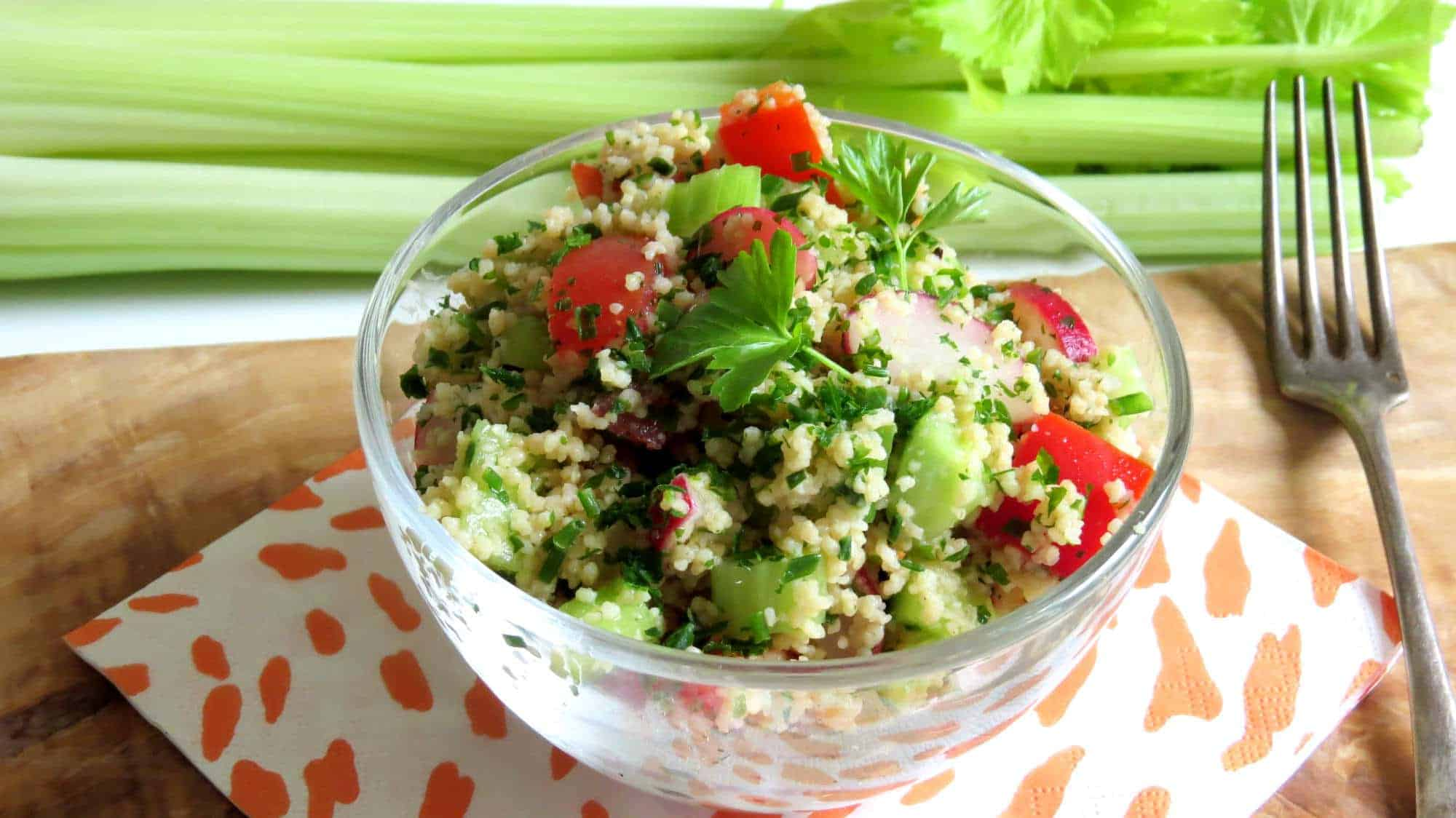 Frühlings Couscous Salat