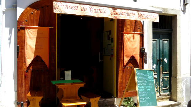 Princesa do Castelo, Vegan in Lissabon