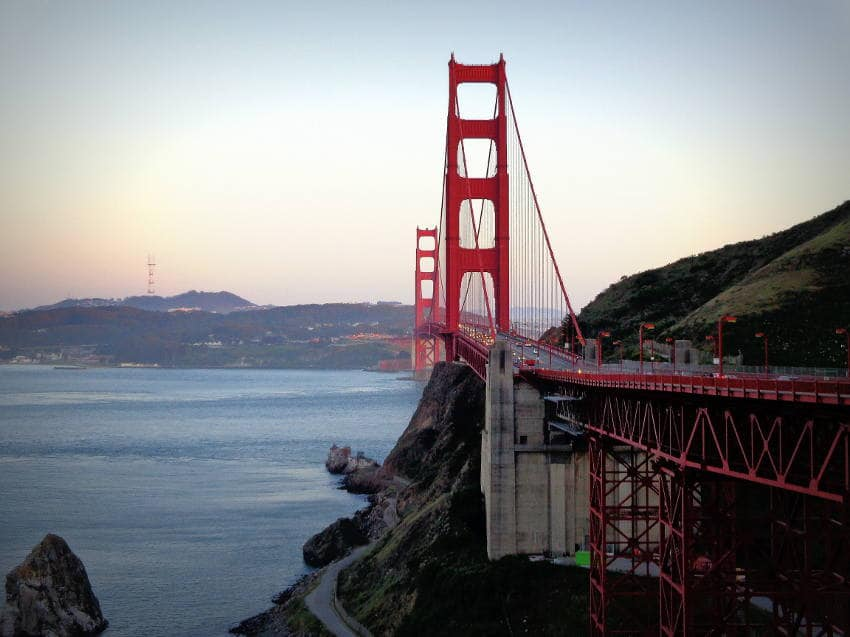 Golden Gate Bridge Vegan USA