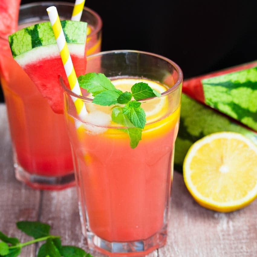 Wassermelonen Limonade