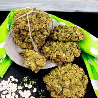 Vegane Matcha Kekse