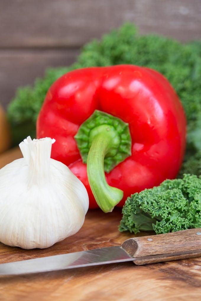 """Grünkohl-Bohnen Eintopf + Buchrezension """"Superfood Küche"""""""