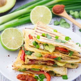 Quesadillas mit Avocado