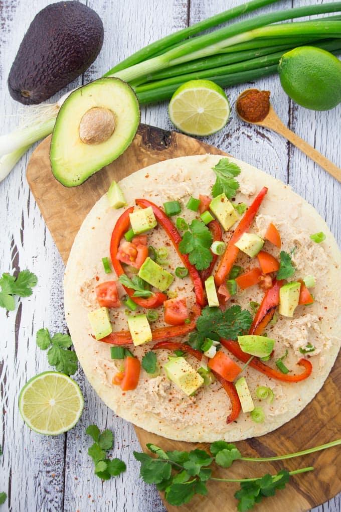 Quesadillas mit Avocado