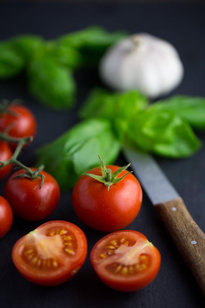 Vegane Tomatensuppe