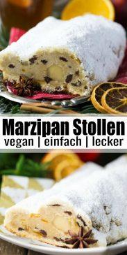 Marzipan Stollen