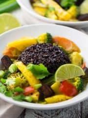 Mango Curry & Buchrezension Taste of Love Geheimzutat Liebe