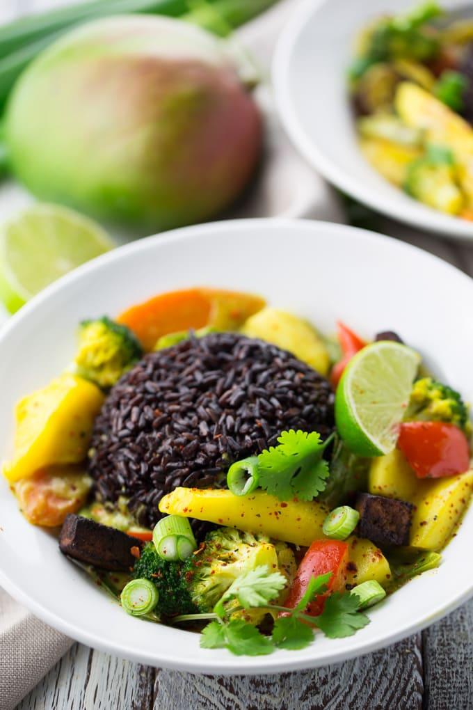 Mango Curry & Buchrezension Taste of Love - Geheimzutat Liebe