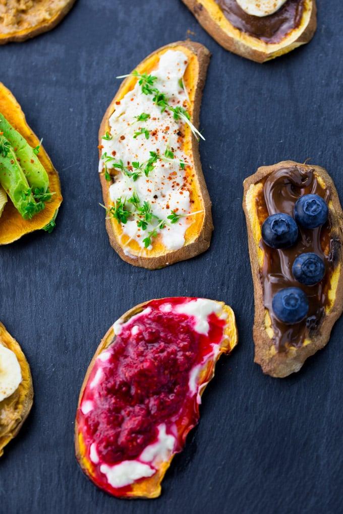 Süßkartoffel Toast (Vegan und Glutenfrei)