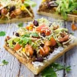 Vegane Taco Pizza