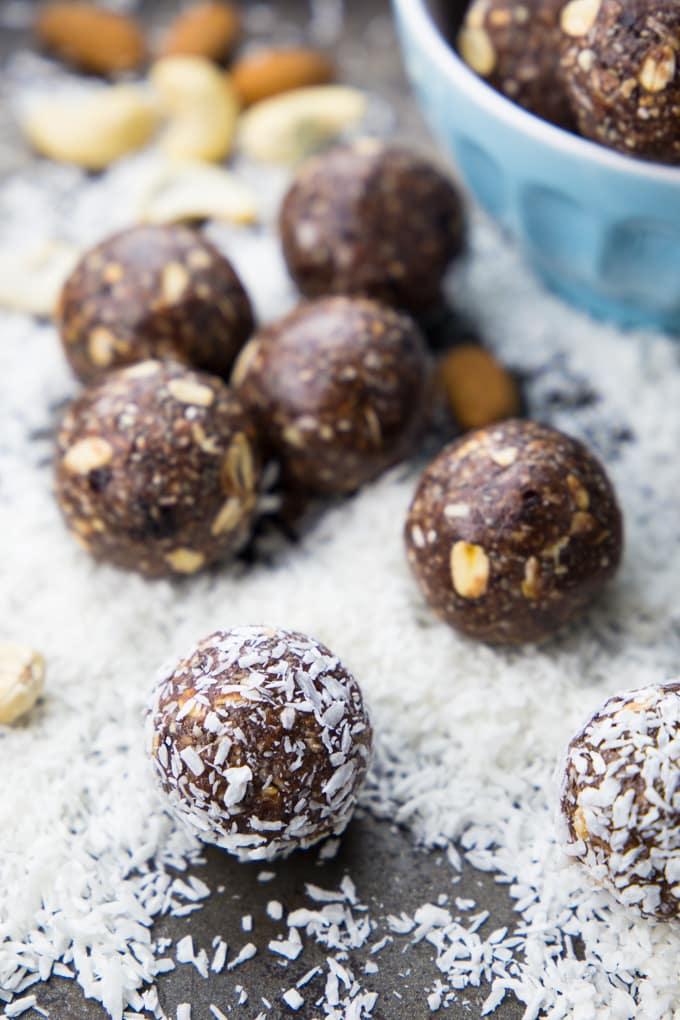 Energy Balls Rezept (super einfach!)