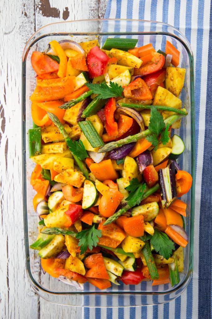 Vegan Grillen mit Produkten der Vegithek von Edeka