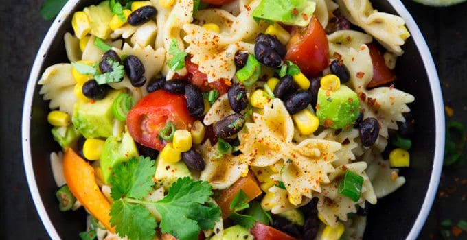 Veganer Nudelsalat - Mexican Style