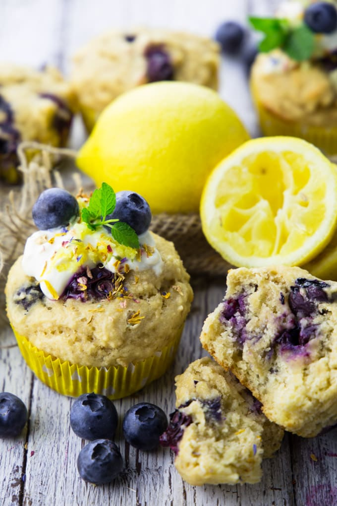vegane muffins mit blaubeeren vegan heaven. Black Bedroom Furniture Sets. Home Design Ideas