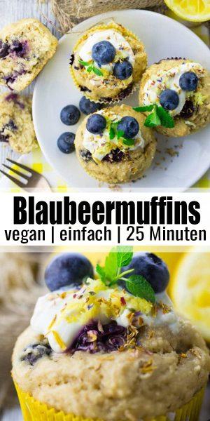 Blaubeermuffins