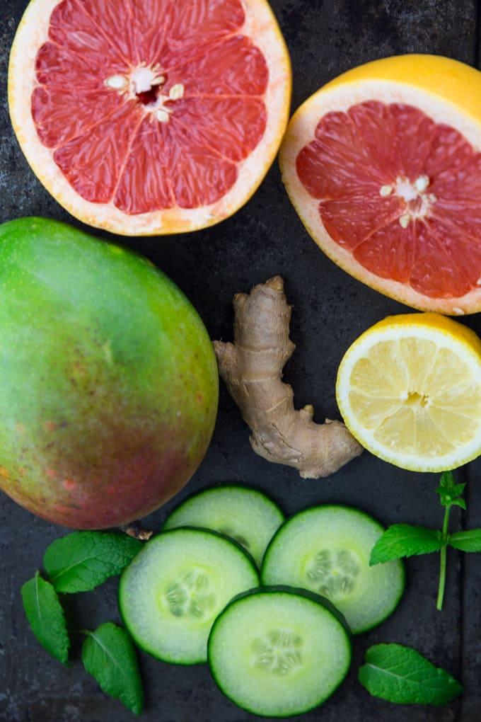 grapefruit mango detox wasser produkttest braun silk pil bibi edition vegan heaven. Black Bedroom Furniture Sets. Home Design Ideas