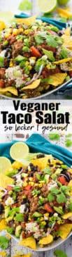 Veganer Taco Salat