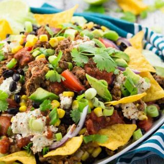 Taco Salat (vegetarisch)