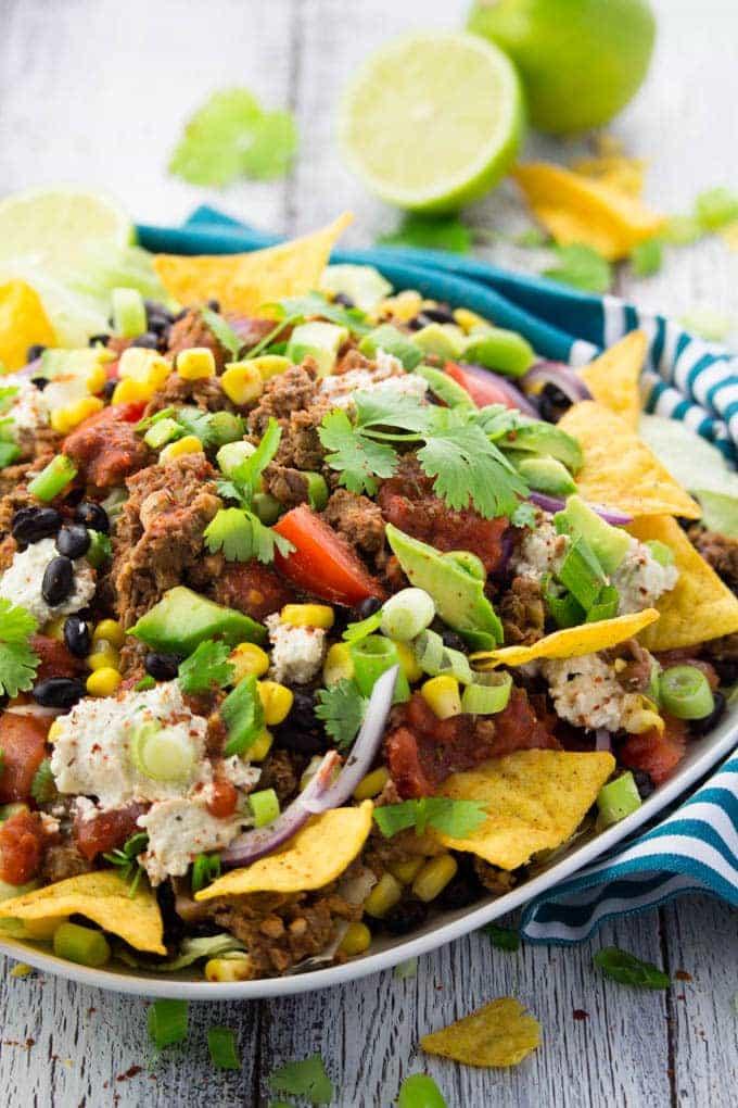 Taco Salat (vegetarisch) & OTTO Kühlschrank-Trickshots