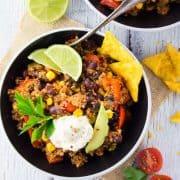 Chili Sin Carne mit Tofu