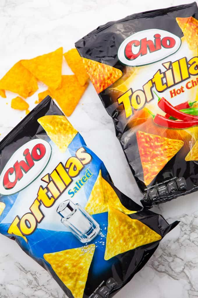 Mexikanischer Reisauflauf mit Chio Tortillas