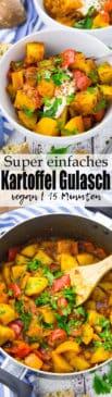 Kartoffel Gulasch