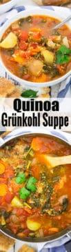 Quinoa Grünkohl Suppe