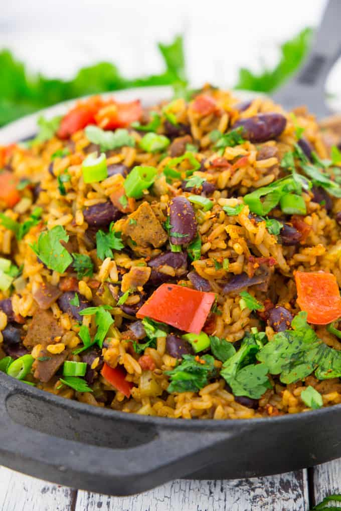 Jambalaya - einfaches Reisgericht aus Louisiana